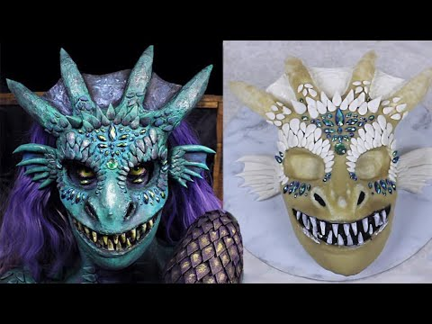 Dragon Makeup Tutorial & How to Make a Prosthetic with Latex