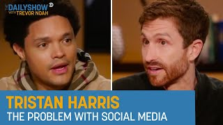 Tristan Harris - Facebook & Rethinking Big Tech | The Daily Show