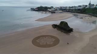 Fantastische Sandkreise!