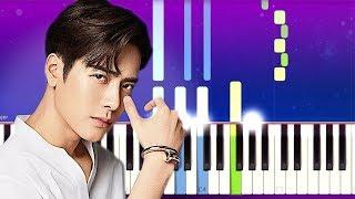 Jackson Wang - BULLET TO HEART (Piano Tutorial)