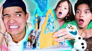 FROZEN ELSA Gingerbread Castle!