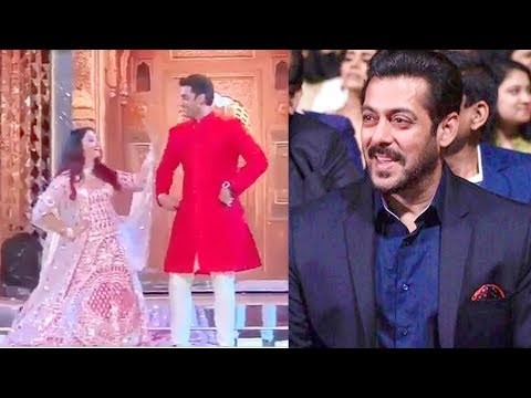 Salman Khan Cant Stop Staring At Aishwarya Rai's AMAZING Dance With Abhishek @Isha Ambani's WEDDING
