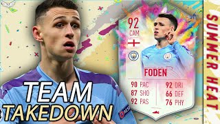 SUMMER SHOWDOWN PHIL FODEN!!! SUMMER HEAT TAKEDOWN w/ CapGunTom | Summer Heat Summer Showdown SBC