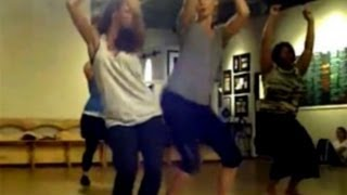 Kat Graham & Candice Accola Dance, Filmed By Nina Dobrev [The Vampire Diaries]