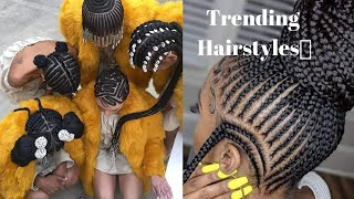 30+ Best Braided Hairstyles- African Inspired Braids For Black Women And Teens Compilation