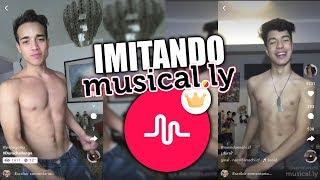 IMITANDO MUSICAL.LY´S FAMOSOS | GrPepe