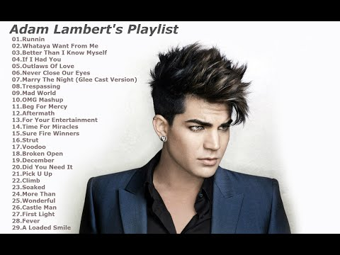 Adam Lambert's Songs Mp3