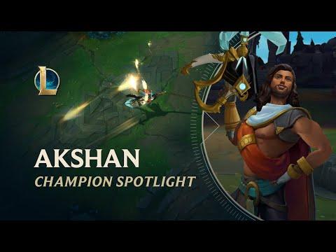 Akshan Champion Spotlight   Gameplay – League of Legends