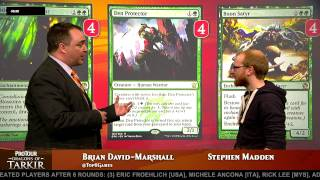 Pro Tour Dragons of Tarkir Deck Tech: Green Devotion with Stephen Madden