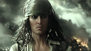 Young Jack Sparrow   Pirates of the Caribbean Dead Men Tell No Tales (2017)   Walt Disney Pictures