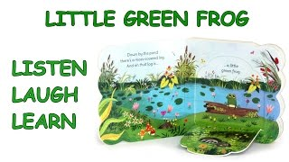 Little Green Frog - Cottage Door Press - Read Along Kids Book