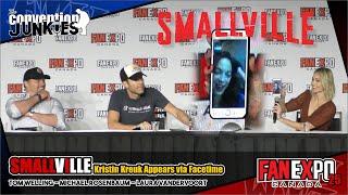 Kristin Kreuk Joins Smallville's Tom Welling, Michael Rosenbaum & Laura Vandervoort At Fan Expo Q&A!