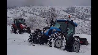 Landini Powerfarm 90 vs Massey Ferguson 5410 - Yavuzköyü Traktör Denemeleri Part 3