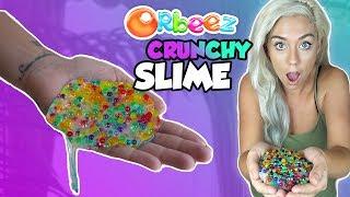 ORBEEZ CRUNCHY SLIME! THE CRUNCHIEST SLIME ON YOUTUBE | ASMR Slime
