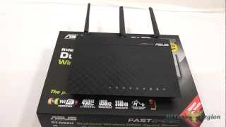 ASUS RT-N66U Dual-Band Wireless-N Router Overview + Benchmarks