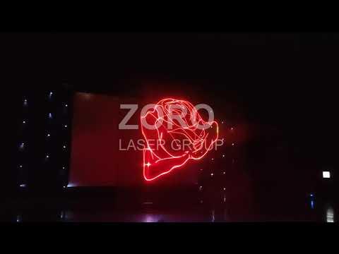 Анімаційне Лазерне Шоу, відео 1