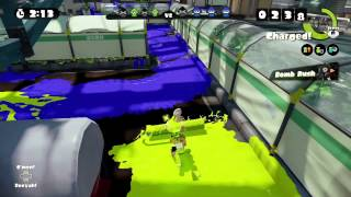 ★噴射戰士★Splatoon《籽岷的新遊戲體驗 WiiU高品質塗鴉射擊新作》