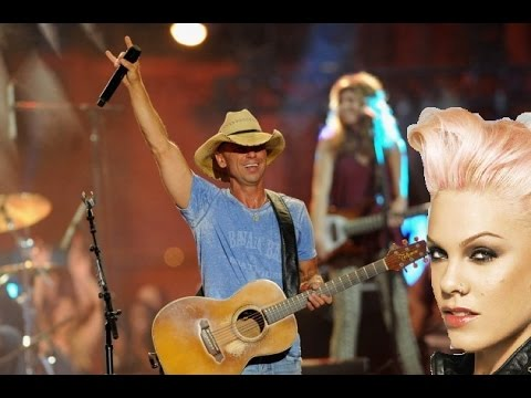 Kenny Chesney feat Pink - Setting the World On Fire (Audio)