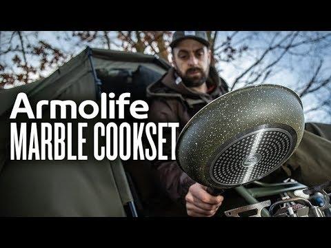 Trakker Armolife Marble Cooksets - kerámia edény szett (2 részes) videó