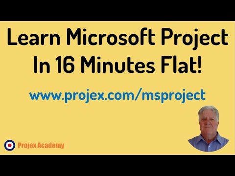 Learn Microsoft Project In 16 minutes - Full FREE Tutorial for ...