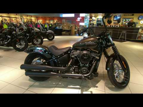 2020 Harley-Davidson Softail Street Bob FXBB W/ Vance N' Hines 300 Exhaust