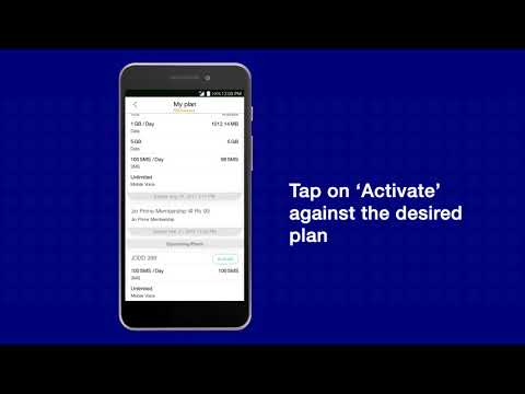 How to Activate Upcoming Jio Plans using My Jio App?
