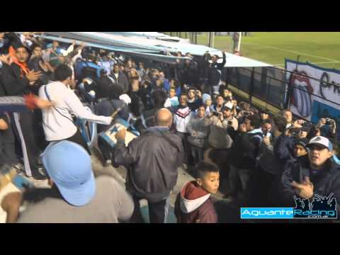 """""""Racing Club - La Guardia Imperial - Bombos y Trompetas Salida"""" Barra: La Guardia Imperial • Club: Racing Club • País: Argentina"""