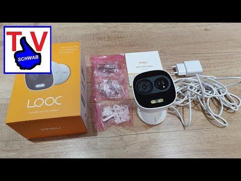Outdoorkamera Imou LOOC IP Kamera tutorial and intro security camera
