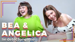Bea Alonzo and Angelica Panganiban Play A Lie Detector Drinking Game | Rec•Create