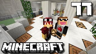 BIKIN LABORATORIUM KACA !! - Minecraft Survival Indonesia #77