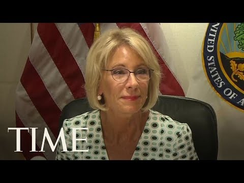 Betsy DeVos' Meetings On Campus Sexual Assault Called 'Uplifting' By Accused Students | TIME
