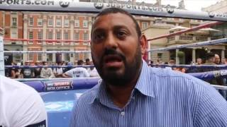 PRINCE NASEEM HAMED BREAKS DOWN GENNADY GOLOVKIN v KELL BROOK - & PREDICTS 11th ROUND WIN FOR BROOK