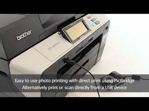 Brother DCP 6690CW Compact A3 Inkjet Multifunction Printer