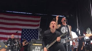 Anti-Flag: This is the End (For You My Friend) - Warped Tour 7/14/17 - Burgettstown, PA
