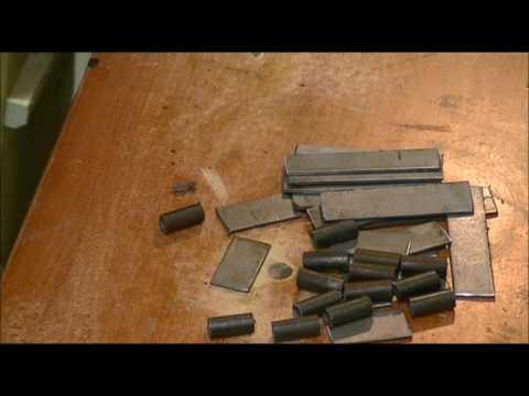 🔨 Cerniere in ferro fai da te con materiale di recupero trovato nel mio garage