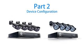 JOOAN AHD Security Camera System Connection and Configuration Video