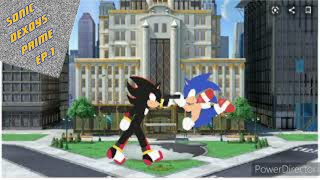 Sonic dexoys prime : Ep.1 sonic vs shadow |HD| [720p] stick nodes animation
