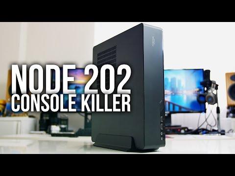 Fractal Design NODE 202 – Console Killer ITX Gaming Case