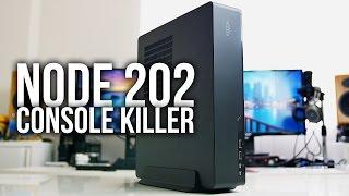 Fractal Design NODE 202 - Console Killer ITX Gaming Case
