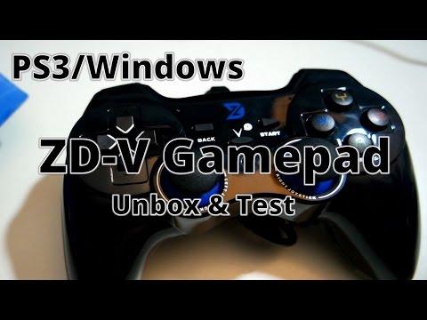 ZD-V USB Wired Gamepad: Unbox & Test