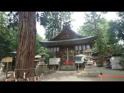Kamo Shrine  賀茂神社(英語字幕付き)with English Subtitle ( Oumi Hachiman in Shiga Prefecture in Japan )