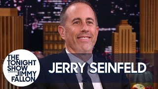 """Jerry Seinfeld chats with Jimmy about the warmth and horror of Thanksgiving, turning his family into comedy props and when it's time for older men to retire """"cool jeans.""""  Subscribe NOW to The Tonight Show Starring Jimmy Fallon: http://bit.ly/1nwT1aN  Watch The Tonight Show Starring Jimmy Fallon Weeknights 11:35/10:35c Get more Jimmy Fallon:  Follow Jimmy: http://Twitter.com/JimmyFallon Like Jimmy: https://Facebook.com/JimmyFallon  Get more The Tonight Show Starring Jimmy Fallon:  Follow The Tonight Show: http://Twitter.com/FallonTonight Like The Tonight Show: https://Facebook.com/FallonTonight The Tonight Show Tumblr: http://fallontonight.tumblr.com/  Get more NBC:  NBC YouTube: http://bit.ly/1dM1qBH Like NBC: http://Facebook.com/NBC Follow NBC: http://Twitter.com/NBC NBC Tumblr: http://nbctv.tumblr.com/ NBC Google+: https://plus.google.com/+NBC/posts  The Tonight Show Starring Jimmy Fallon features hilarious highlights from the show including: comedy sketches, music parodies, celebrity interviews, ridiculous games, and, of course, Jimmy's Thank You Notes and hashtags! You'll also find behind the scenes videos and other great web exclusives.  Jerry Seinfeld Shames Every Older Man for Wearing Jeans http://www.youtube.com/fallontonight  #FallonTonight #JerrySeinfeld #JimmyFallon"""