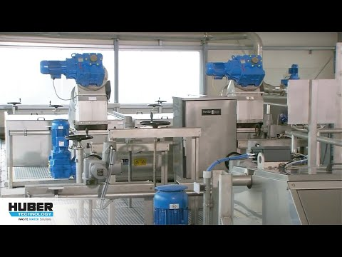 Video: HUBER Membrane Screen ROTAMAT® RoMem - here at a municipal WWTP