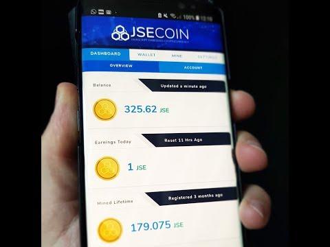 JSEcoin - зарабатываем и майним перспективную монету, выводим и продаём на бирже
