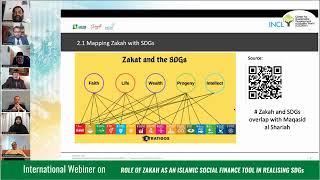 International Webinar on: The Role of Zakah as an Islamic Social Finance Tool in Realizing SDGs. 20 February,2021.