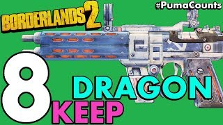 Top 8 Best Guns and Weapons from Tiny Tina's Assault On Dragon Keep for Borderlands 2 #PumaCounts