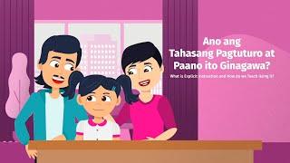 Parent-Teacher Activity Time | Ano ang tahasang pagtuturo at paano ito ginagawa? | Bayan E-skwela
