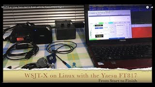 WSJT-X on Linux from start to finish with the Yaesu FT817 Part 1