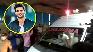 Sushant Singh Rajput Left For Last Rites