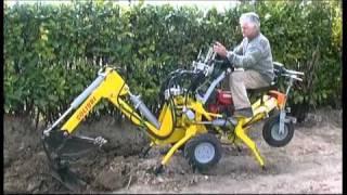 Mini Micro Escavatore Trivella by Baliani Rufino tel +39 0742 23622